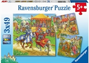 Life Of The Knight 3 X 49 Piece Puzzle   Merchandise