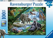 Jungle Animals 100 Piece Puzzle | Merchandise