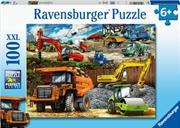 Construction Vehicles 100 Piece Puzzle | Merchandise
