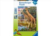 Giraffes In Africa 150 Piece Puzzle   Merchandise