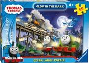 Thomas The Tank Engine Ex Lrg Glow In The Dark Puzzle 60pc   Merchandise