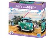 Blue Opal - Green Kombi Ute 1000 piece puzzle | Merchandise