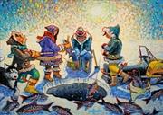 Ice Fishing Puzzle 1000pc | Merchandise