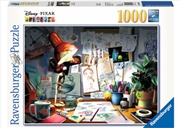 Disney Pixar The Artists Desk 1000pc Puzzle | Merchandise