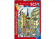 Paris 925 Piece Puzzle | Merchandise