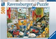 Music Room Puzzle 500pc Puzzle | Merchandise