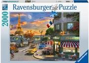 Paris Sunset Puzzle 2000pc | Merchandise