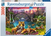 Tigers In Paradise 3000pc Puzzle | Merchandise