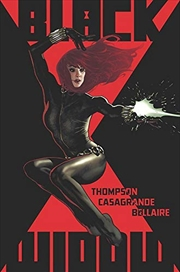 Black Widow by Kelly Thompson Vol. 1: The Ties That Bind   Paperback Book