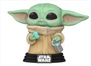 Star Wars: The Mandalorian - Grogu with Cookies Pop! Vinyl | Pop Vinyl