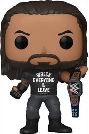 WWE - Roman Reigns 'Wreck' Metallic US Exclusive Pop! Vinyl [RS] | Pop Vinyl