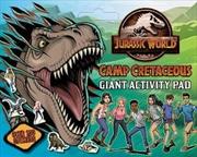 Camp Cretaceous: Giant Activity Pad   Paperback Book