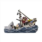Jaws - Shark Eating Boat Movie Moment Pop! RS | Pop Vinyl
