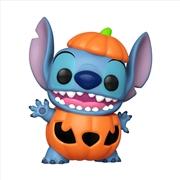 Lilo & Stitch - Pumpkin Stitch US Exclusive Pop! Vinyl [RS] | Pop Vinyl
