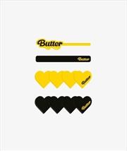 BTS - Butter Hair Pin Set (4 Pieces) | Merchandise