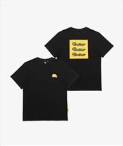 BTS - Butter Black T-Shirt - Size XL | Merchandise