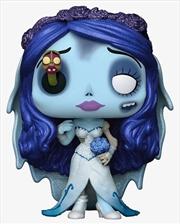 Corpse Bride - Emily with Worm US Exclusive Diamond Glitter Pop! Vinyl [RS] | Pop Vinyl