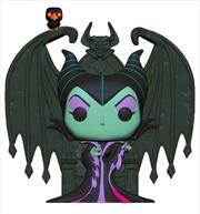 Sleeping Beauty - Maleficent on Throne US Exclusive Diamond Glitter Pop! Deluxe [RS] | Pop Vinyl