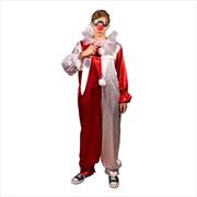 Halloween 4: The Return of Michael Myers - Jamie Lloyd Clown Costume & Mask Adult | Apparel