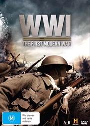 World War 1 - The First Modern War   DVD