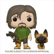 The Walking Dead - Daryl with Dog Pop! Vinyl | Pop Vinyl
