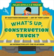What's Up, Construction Truck? (A Pop Magic Book)   Board Book