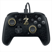 PDP Switch Faceoff Deluxe Wired Controller Zelda Breath of the Wild | Nintendo Switch