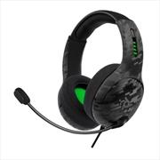 PDP Xbox LVL 50 Wired Headset Black Camo | XBox