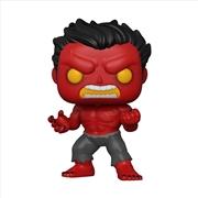 Hulk - Red Hulk Pop! Vinyl RS   Pop Vinyl