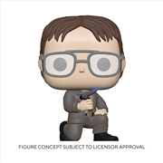 The Office - Dwight w/Blow Torch Pop! RS | Pop Vinyl