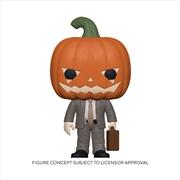 The Office - Dwight w/Pumpkinhead Pop! | Pop Vinyl