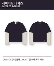 Stray Kids - 1st Lovestay SKZ-X - Layered T Shirt One Size | Apparel
