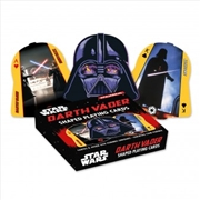 Darth Vader Shaped Playing Cards | Merchandise