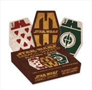 Star Wars – Sabacc Shaped Playing Cards | Merchandise