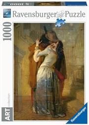 Francesco Hayez - The Kiss 1000 PC Puzzle   Merchandise