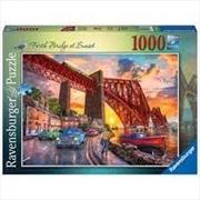 Forth Bridge At Sunset 1000pc Puzzle | Merchandise