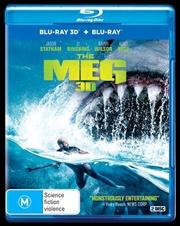 Meg | 3D + 2D Blu-ray, The | Blu-ray 3D