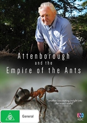 David Attenborough And The Empire Of The Ants   DVD