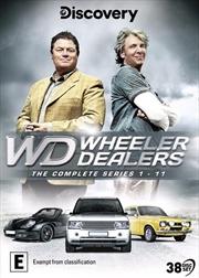 Wheeler Dealers - Series 1-11   DVD