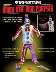 "House of 1,000 Corpses - Captain Spaulding 5"" Action Figure | Merchandise"