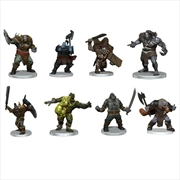 Dungeons & Dragons - Icons of the Realms Orc Warband | Merchandise