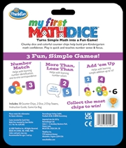 My First Math Dice | Merchandise