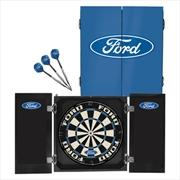 Ford Dartboard In Cabinet | Homewares