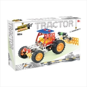 Construct-It! - Tractor 132-Piece Metal Building Set | Toy