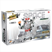 Construct It! Space Robot: 144 Piece | Toy