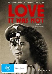 Love It Was Not | DVD