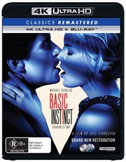 Basic Instinct | Blu-ray + UHD - Classics Remastered | UHD