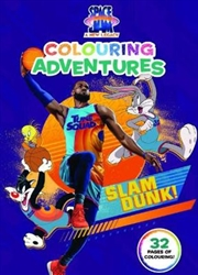 Space Jam 2: Colouring Adventures (Warner Bros) | Paperback Book