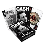 Johnny Cash Playing Cards | Merchandise