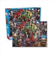 Marvel – Cast Gallery 1000pc Puzzle | Merchandise